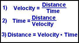 Problem solving speed and velocity worksheet